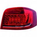 Farois traseiros Audi A3 08-12 ROT-WEI, branco, vermelho