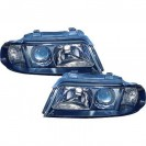 DAYLINE headlights AUDI A4 B5 _drl-optic _ chrome