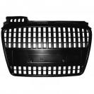 Grelha de radiador (1017640) Audi A4 04-07, preto