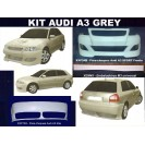 Audi A3 Grey Kit em fibra