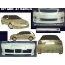 Audi A3 Racing Kit em fibra