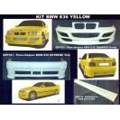 BMW E36 Yellow KIT em fibra