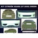 Citroën XSara Phase 1 GREEN KIT em fibra