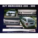 Mercedes 200-300 KIT em fibra