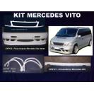 Mercedes Vito KIT em fibra