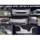 Opel Astra G LARGE KIT em fibra