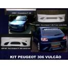 Peugeot 306 VULCÃO KIT em fibra
