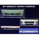 Renaul Super 5 RADICAL KIT em fibra