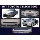Toyota Celica 2002 KIT em fibra