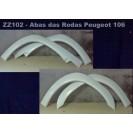 Abas das Rodas Peugeot 106 em fibra