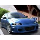 "Kit Aerodinâmico Honda Civic Hatchback ""KOMODO"" em fibra"