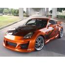 """Kit de Alargamento Nissan 350Z """"VENOM WIDE"""" em fibra"""