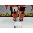 Spray de reparação e pintura + spray de limpeza para bancos de mota e casacos em pele
