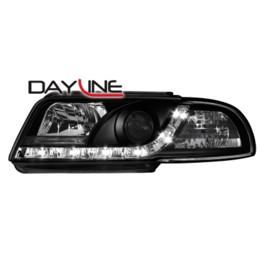 DAYLINE headlights AUDI A4 B5 _drl-optic _ black