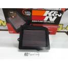 Filtro de ar K&N / KN reutilizavel e lavavel Honda Civic, CRX, SHUTTLE, 1988-1995 C/ 2 anos de garantia (material original)