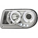 headlights Chrysler 300C 04-08 _ 2 halo rims _chrom