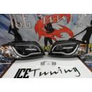 Farois devil eyes Audi A3 8P 03-08 fundo preto C/2 anos garantia (material novo)