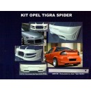 Kit Opel Tigra Parachoques E Embaladeiras Em Fibra