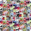 Comic, Sticker-Style, 152 x 100 cm