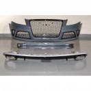 Spoiler / lip / aileron traseiro em plastico ABS, para o Audi A4 B8, de 2008-2015