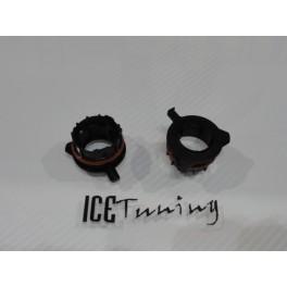 Adaptador, Ficha, Socket, suporte de lampada de xenon ou led H7 para BMW E39 520, 530, E60, E200, 728LI