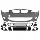 PáraChoquesF (1224250) BMW 5-Reihe (E60/61) 03-07, Front, for vehicles with headlamp cleaning system