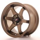 Japan Racing JR3 15x7 ET35 Blank Bronze
