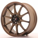 Japan Racing JR5 18x8 ET35 Bronze anodizado 5x100 / 105 / 108 / 110 / 112 /114,3
