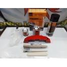 Tinta alta temperatura Foliatec, vermelho performance, para bombas / pinças de travão, kit 3 componentes + kit de instalação
