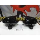 Capas / carcaça de espelhos preto brilhante BMW Serie 1 E81, E82, E87, E88 M1 look
