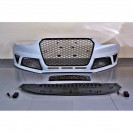 Kit para-choques frontal + lip frontal Audi A4 B8, de 2013-2015 RS4 Look em plastico ABS