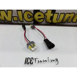 Ficha / socket de conversao lampadas de halogênio ou de led H8 para H11