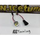 Ficha / socket de conversao lampadas de halogênio ou de led H11 para H8
