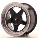 Japan Racing JR6 16x7 ET35 4x100/114.3 Preto brilhante com aba polida