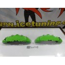 DIY Capas de travao Brembo com tinta de alta temperatura Foliatec Verde power green Brilhante