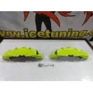 DIY Capas de travao Brembo com tinta de alta temperatura Foliatec Verde toxic Brilhante