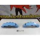 DIY Capas de travao Brembo com tinta de alta temperatura Foliatec Azul Celeste Brilhante