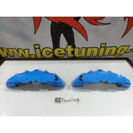 DIY Capas de travao Brembo com tinta de alta temperatura Foliatec Azul GT Brilhante