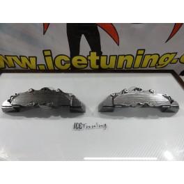 DIY Capas de travao Brembo com tinta de alta temperatura Foliatec Carbono / Antracite metálico Brilhante