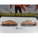 DIY Capas de travao Brembo com tinta de alta temperatura Foliatec Cobre metálico Brilhante