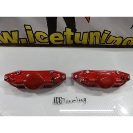 DIY Capas de travao Brembo com tinta de alta temperatura Foliatec Vermelho Brilhante