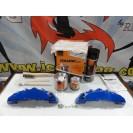 Capas Brembo + Tinta alta temperatura Foliatec Azul Racing Brilhante