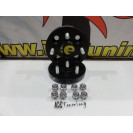 Espaçadores + lug nuts Japan Racing 20MM para Honda 4x100 BC 56.1