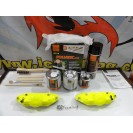 Capas Brembo + Tinta alta temperatura Foliatec Amarelo Neon Brilhante