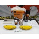 Capas Brembo + Tinta alta temperatura Foliatec Amarelo Performance Brilhante