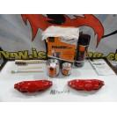 Capas Brembo + Tinta alta temperatura Foliatec Vermelho Mate