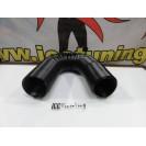 Tubo / conduta / pórtico maleável em plástico 65mm c/1 metro de comprimento