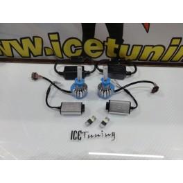 Lâmpadas H1 Em Led 35W CREE Super CAN BUS, 3000 Lumens 8V-48V + Resistências + Minimos T10