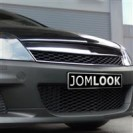 Grelha JOM, sport look, Opel Astra H 3 doors 05-07, chrome_black