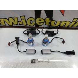 Lâmpadas H8 Em Led 35W CREE Super CAN BUS, 3000 Lumens 8V-48V + Resistências